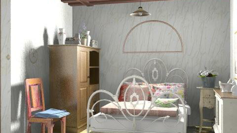 Country bedroom - Country - Bedroom  - by milyca8