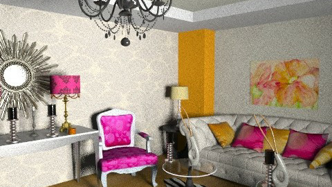 bold and beautiful - Glamour - Living room  - by zozoismail
