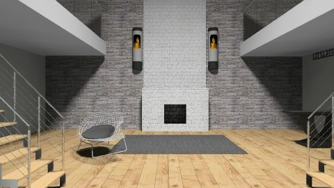 the foyer  - Classic - Living room - by Lizette Najera