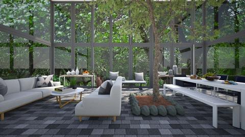 Indoor Garden 2 - by Tanem Kutlu