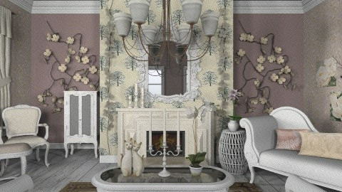 Doll - Rustic - Living room  - by deleted_1566988695_Saharasaraharas