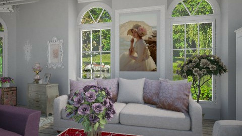 Such - Vintage - Living room  - by milyca8