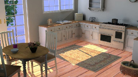 Country Kitchen h1 - Country - Kitchen  - by hannahxj