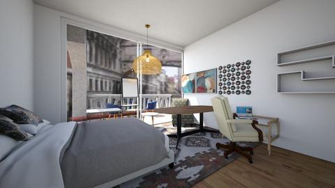 chrispow0105s request - Modern - Bedroom  - by kiwimelon711