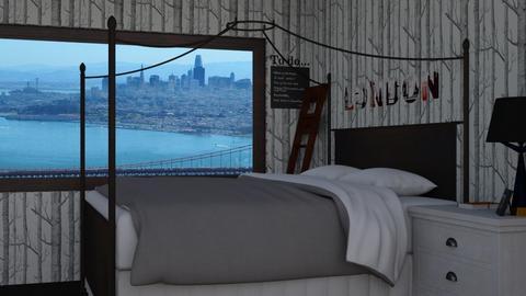 Aesthetic room - Minimal - Bedroom - by thigpen