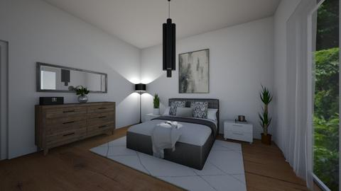 Modern bedrooom - Modern - Bedroom  - by ana pogorelec