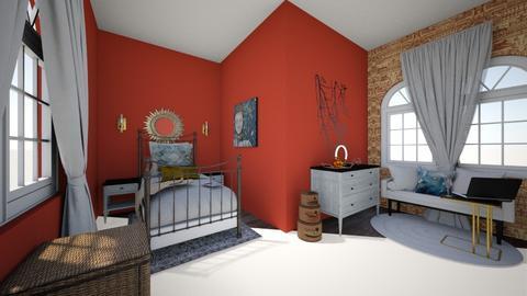small room  - Classic - Bedroom - by JocelynC
