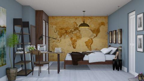 Bedroom redesign - Modern - Bedroom  - by Alecio