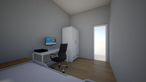 habitacion futura - Minimal - Bedroom  - by hugolz