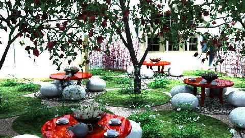 Spreading around - Garden  - by Sputnik