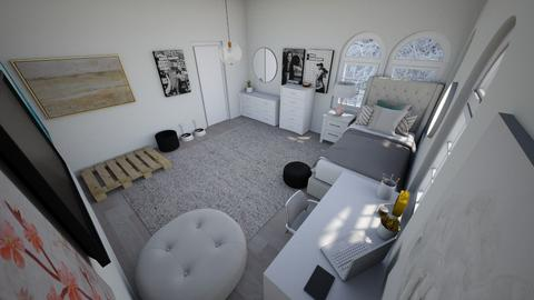 Modern girls room - Bedroom  - by Chayjerad