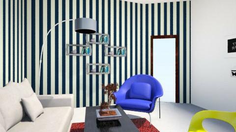 black n white - Modern - Living room  - by KataaRinaa8