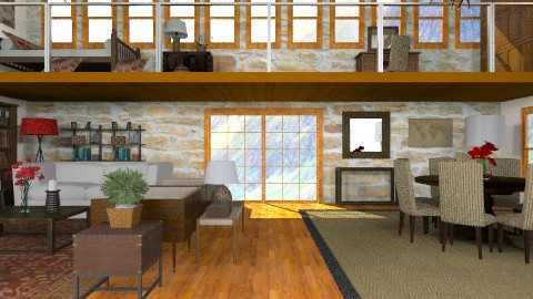 Frome Conversion - Country - Living room  - by camilla_saurus
