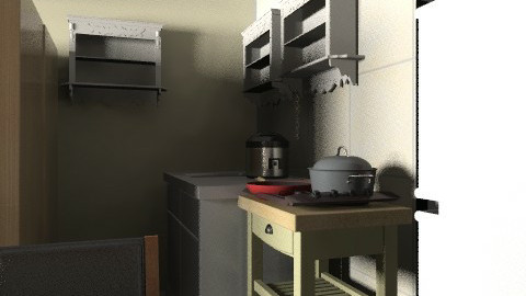 delle kitchen - Minimal - Kitchen  - by fidelle