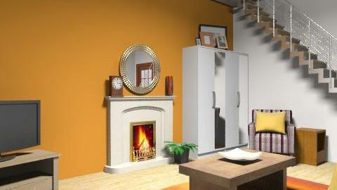 Sue's Living Room - Rustic - Living room  - by Rhoslyn1987