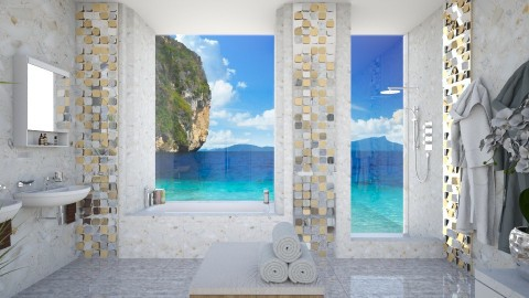 Marble - Bathroom  - by Lizzy0715