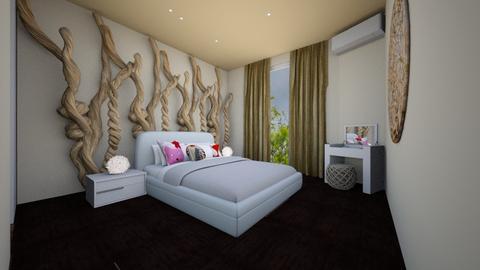 Nature in bedroom - Rustic - Bedroom - by MC Design