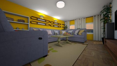 3 - Classic - Living room - by Vuk7