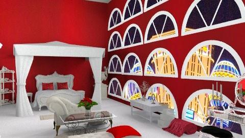 Las Vegas Honey Moon Suite - Glamour - Bedroom  - by Lenii