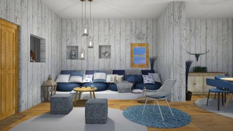 Houston - Rustic - Living room - by Kathran