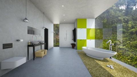 ggd - Modern - Bathroom  - by Evangeline_The_Unicorn