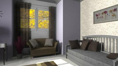 Vintage guest room - Vintage - Bedroom  - by sarahbatty