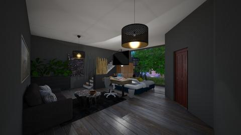 Room of Choice design - Bedroom  - by Raven Pridemore