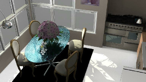 Kitchen2 - Dining Room  - by Nat11