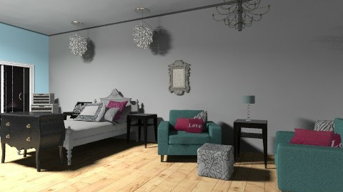 My Bedroom - Glamour - Bathroom  - by lacilee1997