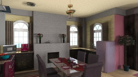 weekend house - Classic - Kitchen  - by vanette