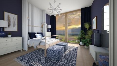 Groja Blue - Modern - Bedroom  - by camilla_saurus
