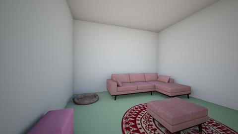 watermelon living room - Living room  - by tank2020