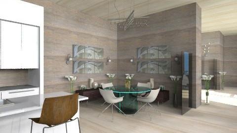 madeOwood kitchenNdining - Modern - Kitchen  - by BriaFaith