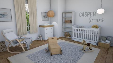 baby room 2 - Kids room  - by GraceRoomstyler