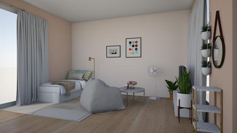 mm - Modern - Bedroom  - by Wimonwan