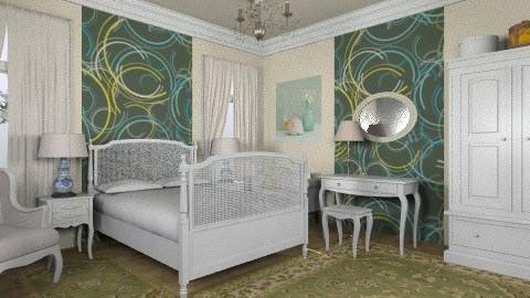 FBR - Rustic - Bedroom  - by milyca8