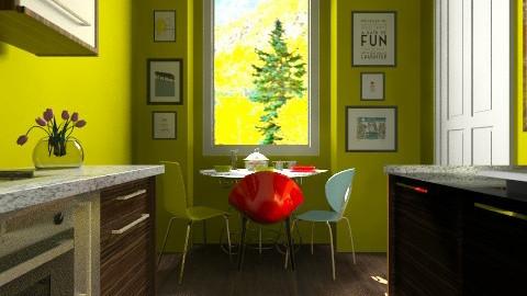 var2 - Eclectic - Kitchen  - by Bubamara