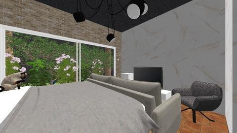 nice bedroom - Modern - Bedroom  - by spotlight_dream
