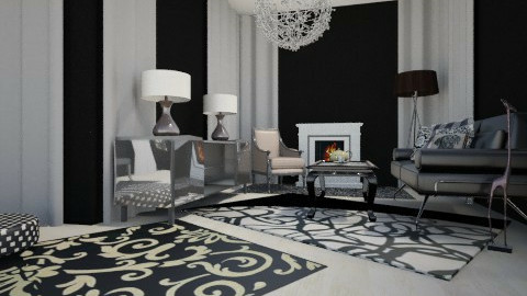 test - Eclectic - Living room  - by JeroenBekkers