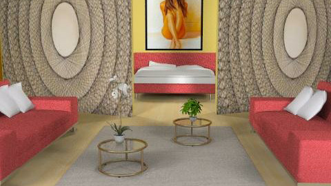 Open - Eclectic - Bedroom  - by channing4