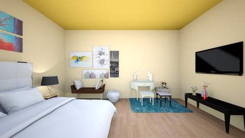 My Bedroom - Bedroom  - by Beula_Grace