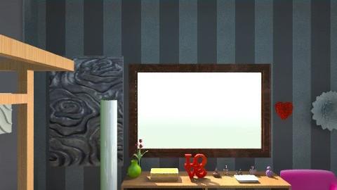 Random but Fun - Retro - Bedroom  - by Ecokay