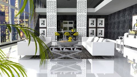 Touch of Yellow!!  - Eclectic - Living room  - by AlSudairy S