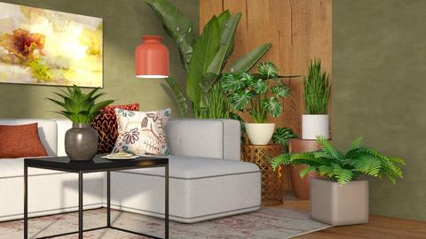 indoor plant room - Living room  - by Sirtzuu93