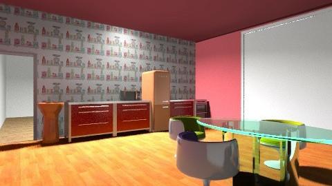 Retro Colour - Retro - Kitchen  - by tillsa98