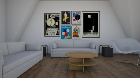 Bauhaus Coloured Studyroo - by matina1976