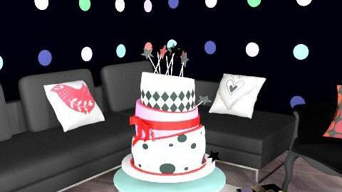 mydeco birthday - Glamour - Living room  - by richardsbm