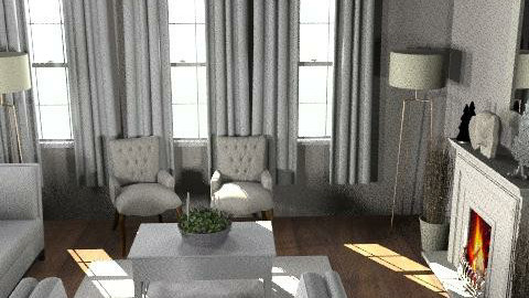 jo8 - Rustic - Living room  - by mannu