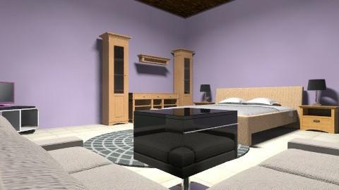 bedromm married - Modern - Bedroom - by kiranmehak