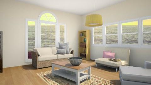 Beach - Living room - by Sally Luhervan